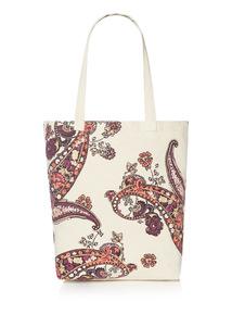 Paisley Canvas Bag