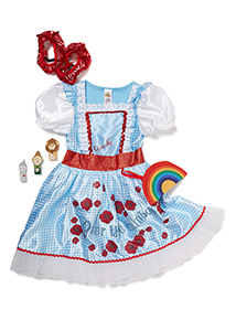 Girls Blue Dorothy Costume (3-10 years)