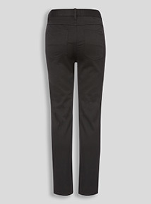 Black Skinny Jean Style Trousers (10-16 years)
