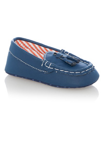 Blue Boys Loafer Shoes (0 - 18 months)