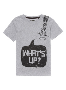 Grey Giraffe Tee (9 months - 6 years)
