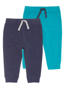 Boys Green Joggers (0-24 months) 2 Pack
