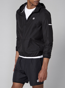 Admiral Black Running Jacket