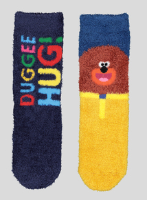 Hey Duggee Multicoloured Socks 2 Pack (6 Infant-3.5 Adult)