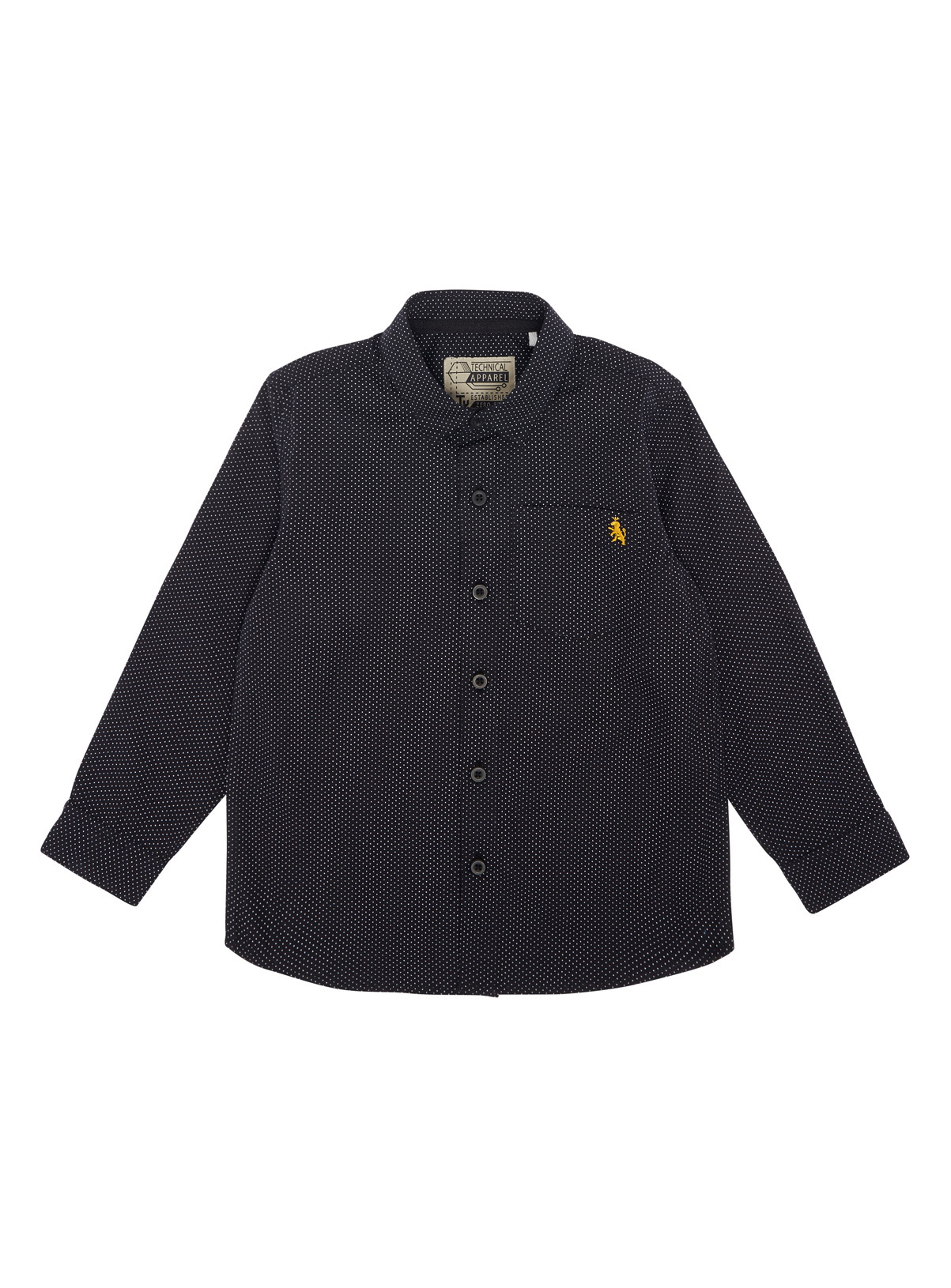 All Boy's Clothing Boys Black Spot Shirt (3-12 years) | Tu clothing
