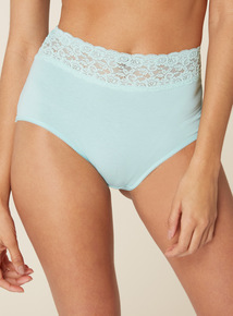 5 Pack Lace Top Full Brief