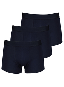 Navy Blue Hipsters 3 Pack
