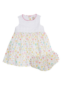 Broderie Dress and Knicker (0 - 24 months)