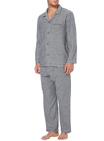 Grey Herringbone Pyjama