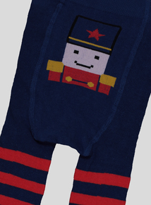 Navy Toy Soldier Long John's (0-24 months)