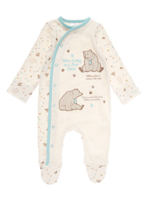 """We're Going on a Bear Hunt"" Sleepsuit (0-12 Months)"
