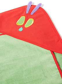 Green 'The Very Hungry Caterpillar' Towel