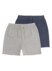 Loopback Shorts 2 Pack (0 - 24 months)