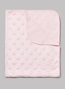 Pink Velboa Shawl