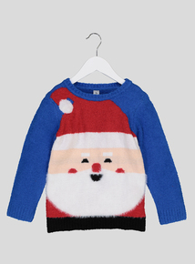 Christmas Santa Claus With Sound Jumper (1 - 6 Years)