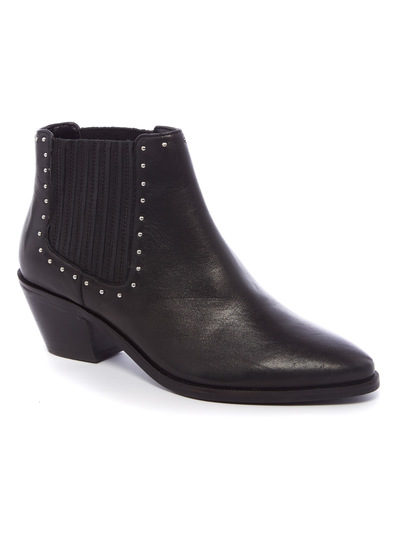 Premium Black Studded Boots
