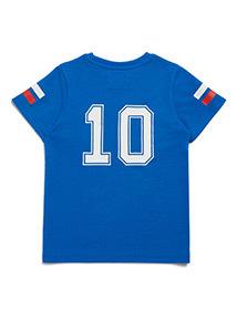 Blue France Football T-Shirt (3-14 years)
