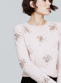Sequin Cluster Jumper