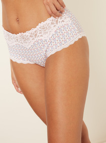 3 Pack Lace Top Shorts