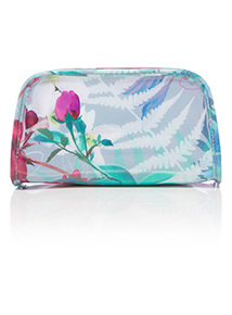 Floral Print Make-Up Bag