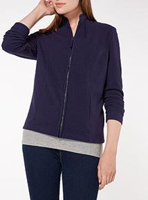 Basic Zip Up Fleece