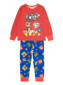 Multicoloured Paw Patrol PJ Set With Socks (18 months-7 years)