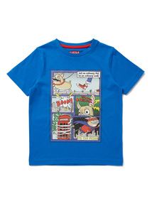 Blue Comic Strip T-Shirt (9 months-6 years)