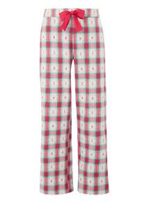 Jacquard Paid Pyjama Bottoms