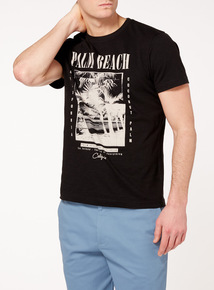 Black Palm Beach T-Shirt