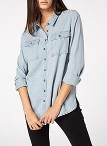 Denim Tencel Shirt
