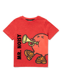 Red Mr Men T-Shirt (3-14 years)