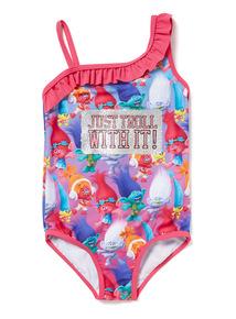 Pink Trolls Swimming Costume (3-10 years)