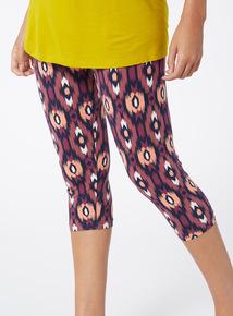 2 Pack Multicoloured Cropped Leggings