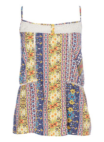 Multicoloured Pattern Camisole