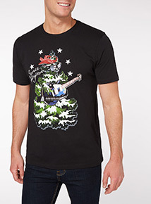 Black Christmas Spruce Springsteen Tee