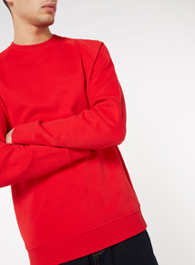 Red Fleece Sweat