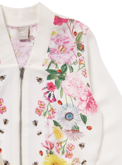 Multicoloured Floral Bomber Jacket (3 - 12 years)