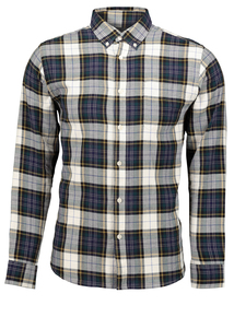 Multicoloured Tartan Check Regular Fit Shirt