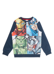 Boys Multicoloured Avengers Sweat (3-12 years)