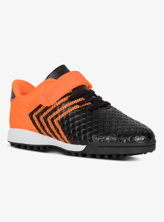 2ecd0e96d201 Kids Orange & Black Football Boots (6 Infant - 4)   Tu clothing