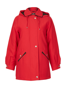 DAVID BARRY Red Classic Panama Jacket