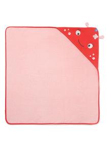 Pink Ladybug Towel