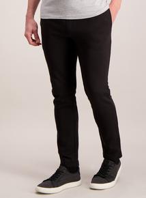 Black Straight Leg Jogger