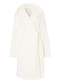Cream Waffle Robe