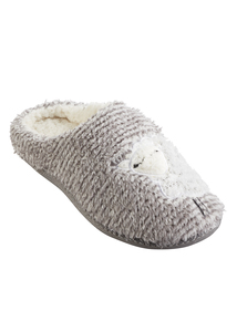 Grey Sheep Mule Slippers