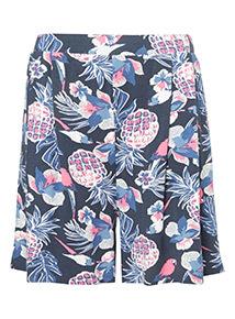 Printed Culotte Shorts