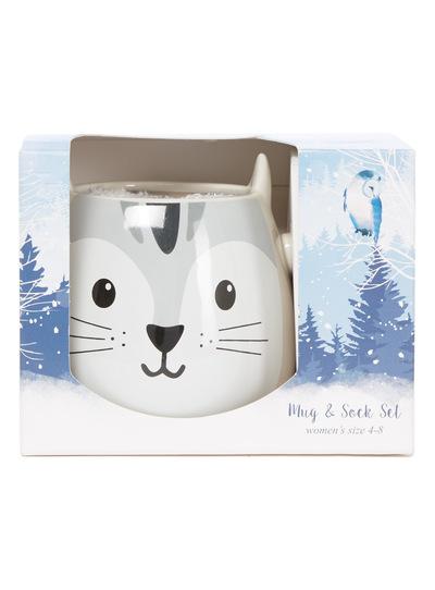 Bunny Mug and Socks Set