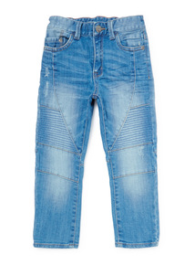 Denim Biker Jeans (3-14 years)