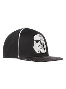 Black Disney Star Wars Cap (3 - 14 Years)