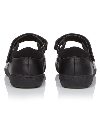 Girls Coated Leather Shoes